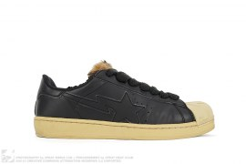 mens shoes Fur Tongue Skullsta by A Bathing Ape