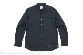 UE Mesh Panel Sleeve Button-Up Shirt by Uniform Experiment