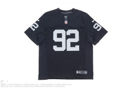 Raiders Seymour 92 Football Jersey by Nike