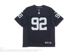 Raiders Seymour 92 Football Jersey by Nike