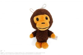 Baby Milo Plush Doll Stuffed Toy Keychain by A Bathing Ape