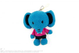 Elephant Plush Keychain by A Bathing Ape