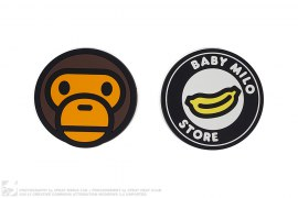 Milo & Banana Coaster Set by A Bathing Ape