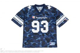 Color Camo Football Jersey by A Bathing Ape x Champion