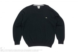 V-Neck Sweater by Lacoste
