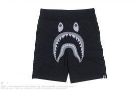 Solid Apehead Strike Logo Shark Sweatshorts by A Bathing Ape x Undefeated