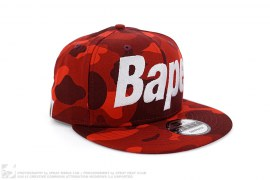 Color Camo Bape Snapback by A Bathing Ape