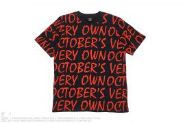 Wordmark Print Tee by OVO