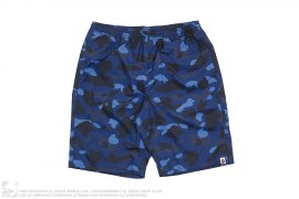 Ultimate Color Camo Beach Shorts by A Bathing Ape