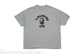 1st Camo College Logo Tee by A Bathing Ape
