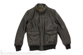 Schott Leather A-2 Jacket by Supreme x Schott