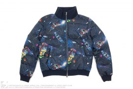 Space Camo Down Jacket by BBC/Ice Cream