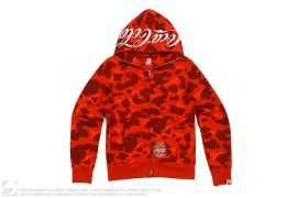Coca Cola Color Camo Hoodie by A Bathing Ape x Coca-Cola
