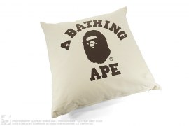 College Logo Pillow by A Bathing Ape