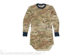 Extended Length Camo Long Sleeve Tee by BBC/Ice Cream