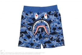 Psyche Camo Shark Sweatshorts by A Bathing Ape
