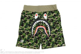 ABC Camo WGM Print Shark Sweatshorts by A Bathing Ape