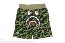 ABC Camo WGM Print Shark Sweatshorts by A Bathing Ape