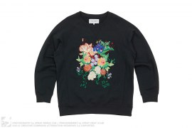 Floral Crewneck by Bianca Chandon