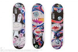 Complexcon Mr Dob & Kaikai Kiki Skateboard Set Of 3 by Takashi Murakami x ComplexCon