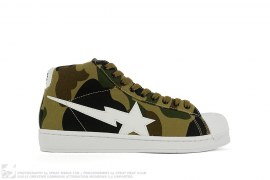 1st Camo Skullsta Mid by A Bathing Ape