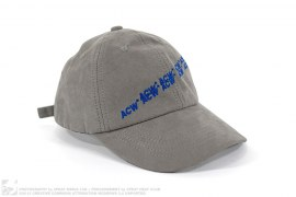 B-SS16 ACW Suede Strapback by A Cold Wall