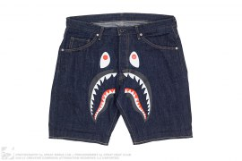 WGM Selvedge Denim Tailored Shorts by A Bathing Ape