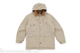 mens jacket Flannel Lined Chore Jacket by A Bathing Ape