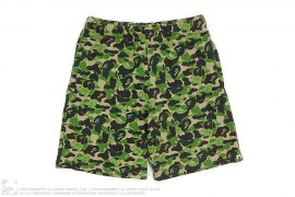 Kaws ABC Bendy Camo Vitnage Wash Sweatshorts by A Bathing Ape x Kaws