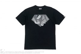 Kaws Bendy BA Logo Tee by A Bathing Ape x Kaws