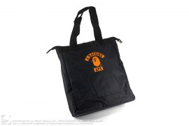Summer Bag Block Print Logo Tote Bag by A Bathing Ape