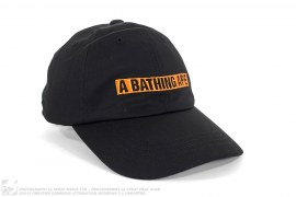 Summer Bag Block Print Logo Strapback Hat by A Bathing Ape