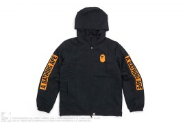 Summer Bag Block Print Sleeve Logo Jacket by A Bathing Ape