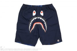 Reversible Color Camo Shark Shorts by A Bathing Ape
