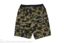 Reversible 1st Camo College Logo Shorts by A Bathing Ape