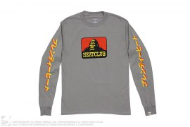mens tee Plenty Heat Long Sleeve Tee by 3peat