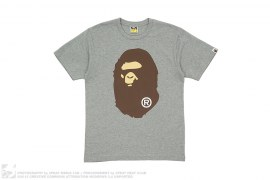 Coming & Going Straight Through Apehead Tee by A Bathing Ape