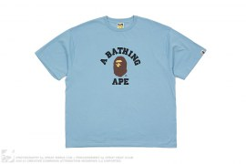 College Logo Tee by A Bathing Ape