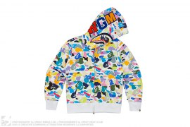 Multi Camo WGM Wappen Shark by A Bathing Ape