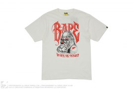 In Ape We Trust Tee by A Bathing Ape x Mister Cartoon x Undefeated