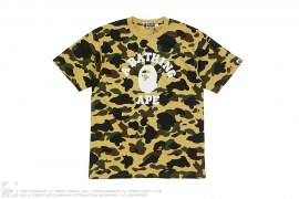 Ultimate 1st Camo College Logo Tee by A Bathing Ape