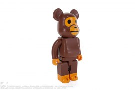 Worldwide Tour Baby Milo 400% Bearbrick by A Bathing Ape x Medicom