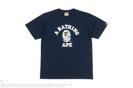 Multi Camo College Logo Tee by A Bathing Ape