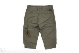 Cropped Cargo Pants by Wtaps