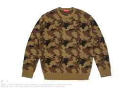 Camo Knit Sweater by Supreme