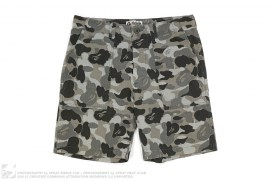 Army ABC Camo Painter Shorts by A Bathing Ape