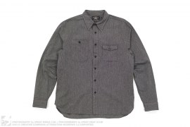 RRL Chambray Button Down Shirt by Ralph Lauren