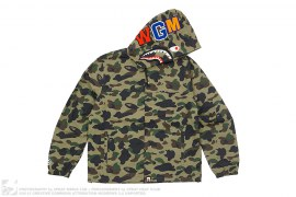 Ultimate 1st Camo Shark Hooded Jacket by A Bathing Ape
