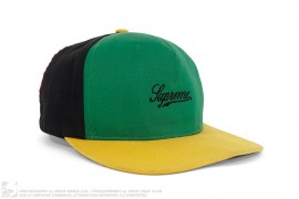 Multi Color Script Logo 5 Panel Hat by Supreme
