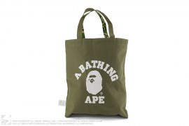 ABC Camo College Logo Reversible Tote Bag by A Bathing Ape
